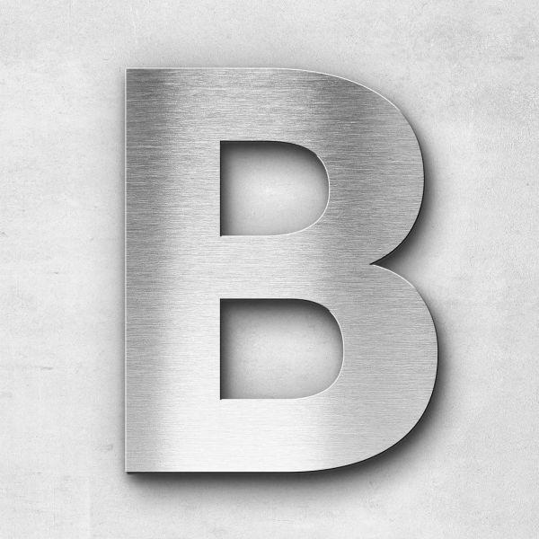 Edelstahlbuchstabe B groß - Serie Sans