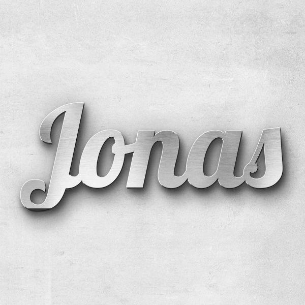 "Schriftzug ""Jonas"", Breite: 15 cm, Schriftart: Ballpark 2.0, Befestigung: Selbstklebend"