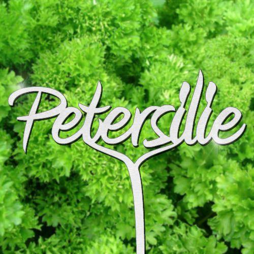 Pflanzenstecker Petersilie - Edelstahl
