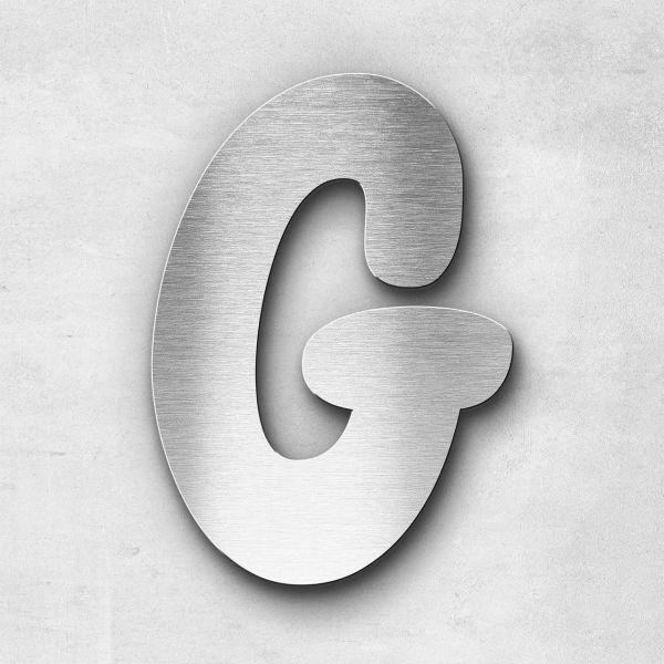 Edelstahlbuchstabe G groß - Serie Darius
