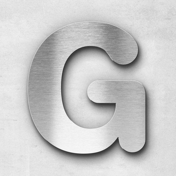 Edelstahlbuchstabe G groß - Serie Classic