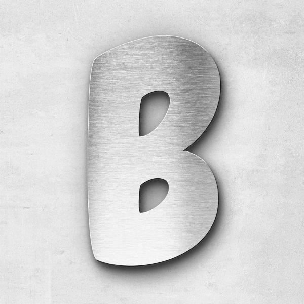 Edelstahlbuchstabe B groß - Serie Darius