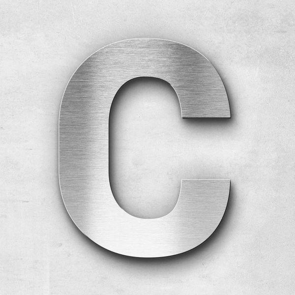 Edelstahlbuchstabe C groß - Serie Sans