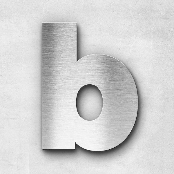 Edelstahlbuchstabe b klein - Serie Kontrast