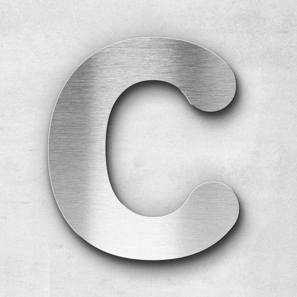 Edelstahlbuchstabe C groß - Serie Classic