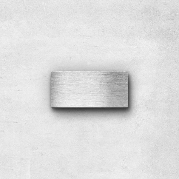 Edelstahlbuchstabe Bindestrich Sonderzeichen - Serie Kontrast