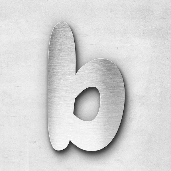 Edelstahlbuchstabe b klein - Serie Darius