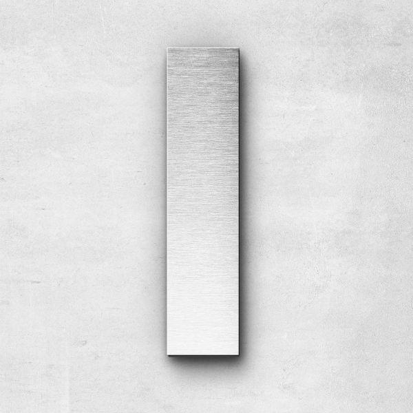 Edelstahlbuchstabe I groß - Serie Sans