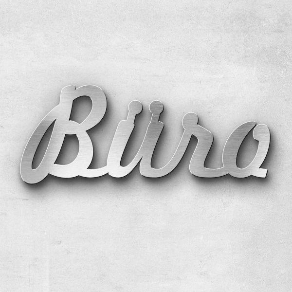 "Schriftzug ""BÜRO"", Breite: 30 cm, Schriftart: Capital, Befestigung: Selbstklebend"