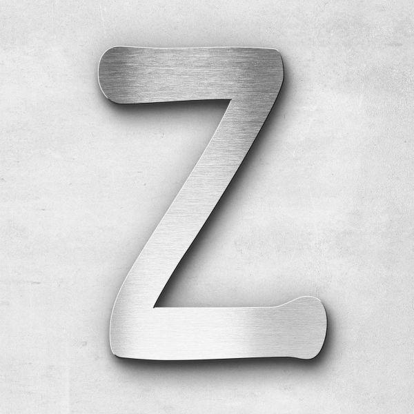Edelstahlbuchstabe Z groß - Serie Malta