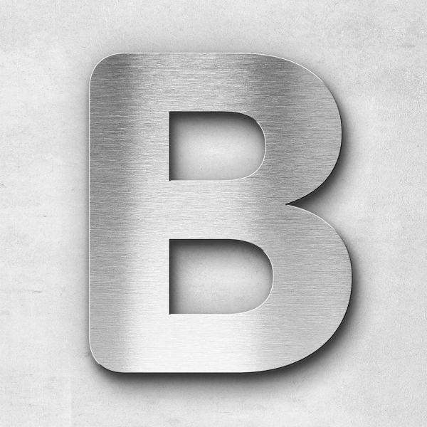 Edelstahlbuchstabe B groß - Serie Classic